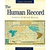 The Human Record, Alfred J. Andrea and James H. Overfield, 0395870887