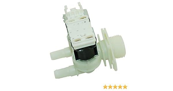 Doble solenoide válvula de llenado para Bosch Siemens lavadora ...