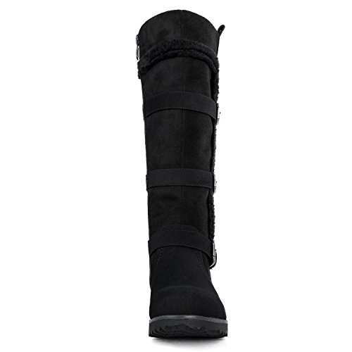 Boots 13black Winter Globalwin Fasion Women's T6OxFX