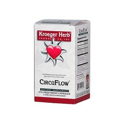Kroeger Herb Circu Flow, 270 caps Review