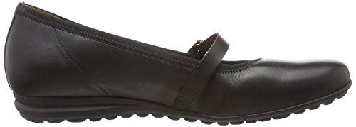 Gabor Shoes Comfort, Bailarinas para Mujer Negro (schwarz 57)
