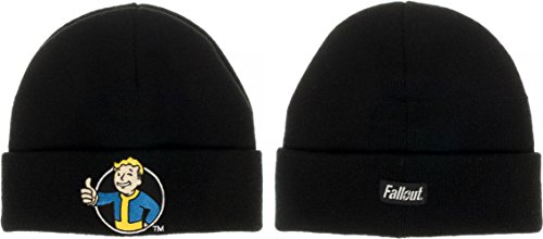Bioworld Fallout Vault Boy Black Cuff Beanie (Awesome Beanie)