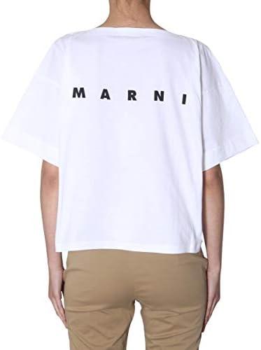 Marni Fashion Womens THJE0012PCSCQ21STV35 Multicolor T-Shirt | Autumn-Winter 19