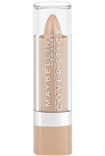 Maybelline New York Cover Stick Concealer, Medium Beige, Medium 1, 0.16 Ounce