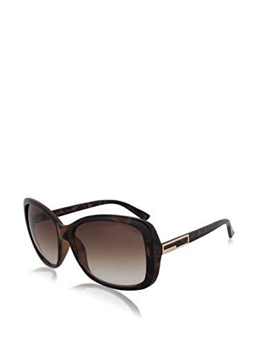 Calvin Klein Women's CWR678S-212 Rectangular Sunglasses, Soft Tortoise, 16 - Calvin Sunglasses