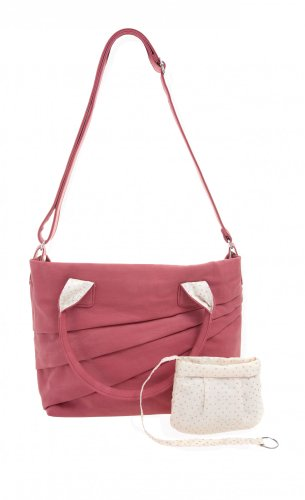zwei Madame MM12 - Bolso, 42 cm, color rojo, talla One Size rojo - rojo