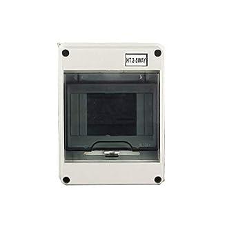 HT Series 5Way IP66 cajas eléctricas impermeable y a prueba de humedad caja de distribución para los