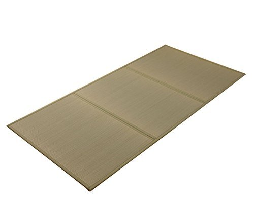 IKEHIKO Japanese Traditional Igusa Tatami Mattress (Twin Size). Made in Japan
