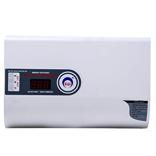 Simon 5 KVA Digital Voltage Stabilizer for AC  1.5/2 Ton   100% Copper   130 V  300 V