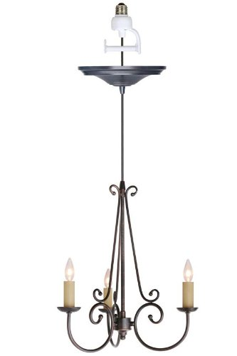 Rogen Small Instant Chandelier Light Conversion Kit, 18