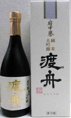 渡舟 わたりぶね 純米大吟醸 720ml 茨城の地酒  クール便