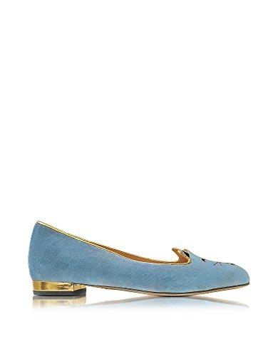 charlotte-olympia-womens-v0097281319-light-blue-velvet-flats