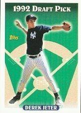 1993 Topps Baseball Cards Complete Set (825 Cards - Derek Jeter Rookie)
