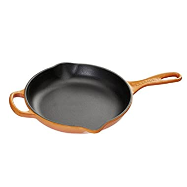 Le Creuset Signature Iron Handle Skillet, 6-1/3-Inch, Flame