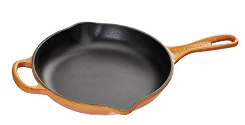 Le Creuset Signature Iron Handle Skillet, 9-Inch, (Enamel French Skillet)