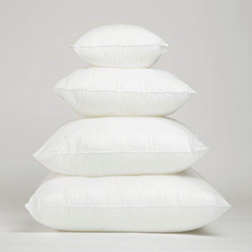 Foamily premium hypoallergenic stuffer pillow insert sham for 26 inch square pillow insert