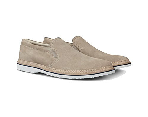 Hogan Slip-On Club H316 Beige, Hombre.