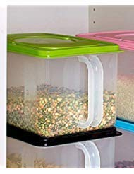 Collection Handled - The Lakeside Collection Bulk Storage Handled Bins - Green