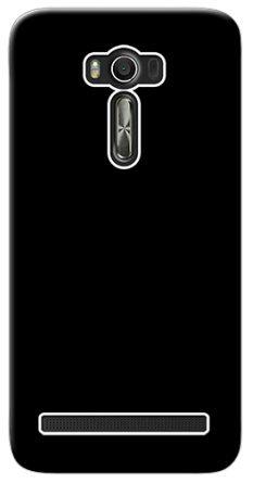 outlet store 7419b 4c109 Asus Zenfone 2 Laser ZOOLD HD Black 3D Matt Finishing Mobile Back ...