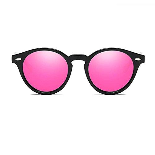 las de UV400 protección Gafas sol conducción gafas de Hombres lentes Marco en de Mujeres 5 Coolsir PC Ronda polarizadas unisex retro forma de P0qwInRvZ