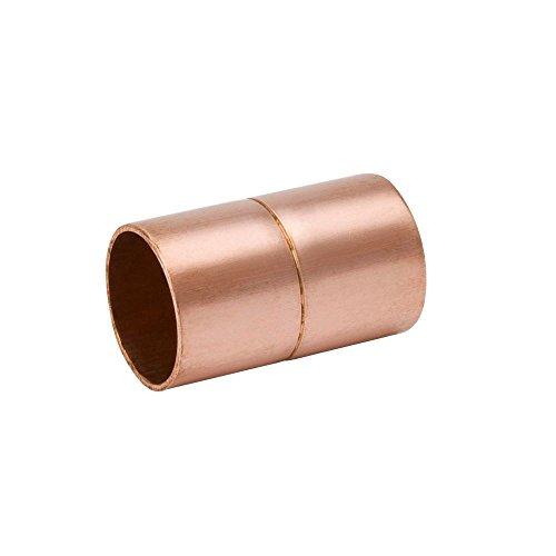 W10151 Mueller Copper Staked Stop Coupling 2-5/8