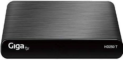 GIGA TV HD250 T - Sintonizador de TV: Amazon.es: Electrónica