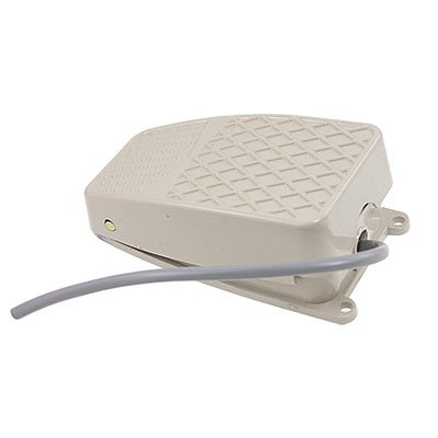 sourcingmap/® Interruptor de pedal 10A NO SPDT NC Antideslizante moment/ánea de Energ/ía El/éctrica