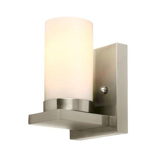 Ellington Bathroom Lighting - Sea Gull Lighting 41585EN3-962 Ellington Wall Sconce, 1-Light LED 9.5 Watts, Brushed Nickel