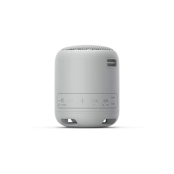 Sony SRS-XB12 Enceinte Portable Bluetooth Extra Bass Waterproof - Gris 4