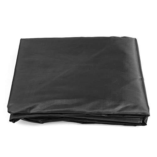 (Anya Nana Black 9 ' ft Foot Table PVC Rip Resistant Pool Table Billiard Cover W Elastic Corners)