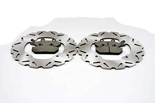 2015 Can-Am Maverick 1000R 4x4 XDS Front Sport Brake Rotors and Front Brake Pads