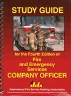fire and emergency services company officer 4th edition