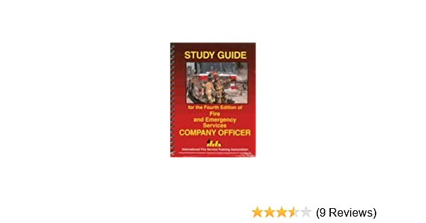 study guide for the fourth edition of fire and emergency services