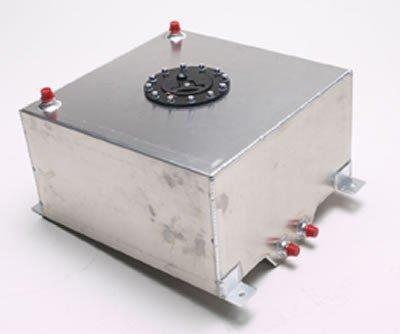 15 Gallon 30L x 9W x 12H Natural Aluminum Color RCi 2161A Aluminum Fuel Cell