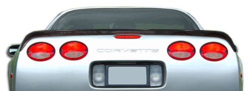 Carbon Creations Replacement for 1997-2004 Chevrolet Corvette C5 S-Design Wing Trunk Lid Spoiler 1 Piece