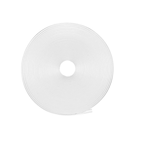 uxcell Heat Shrink Tube 2:1 Electrical Insulation Tube Wire Cable Tubing Sleeving Wrap Clear 12mm Diameter 5m Length