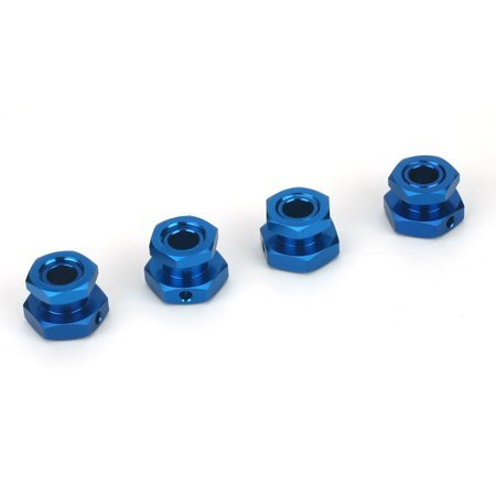 Team Losi 20mm Wheel Hex Set, Blue: LST2, Muggy