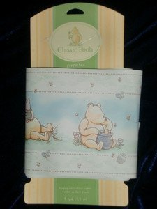 Classic Pooh A Bear and his Things Wallpaper Border - Prepasted by Disney