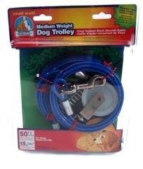 Medium Weight Trolley - Medium Weight Dog Trolley by rruff stuff – 50'