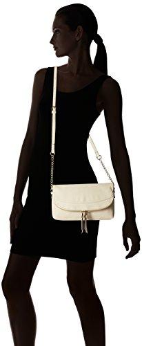 Accessorize Sac à bandoulière repliable à deux rabats - Femme - Taille unique