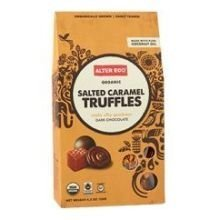 Alter Eco - Salted Caramel Truffles with Dark Chocolate - 8-Pack of 10-Count Bags