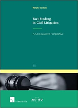 Book Fact-Finding in Civil Litigation: A Comparative Perspective (Ius Commune Europaeum)
