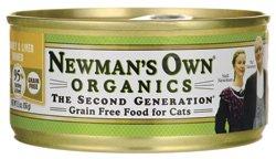 NEWMANS OWN ORGANIC CAT CAN GRN FREE TURKY LI, 5.5 OZ