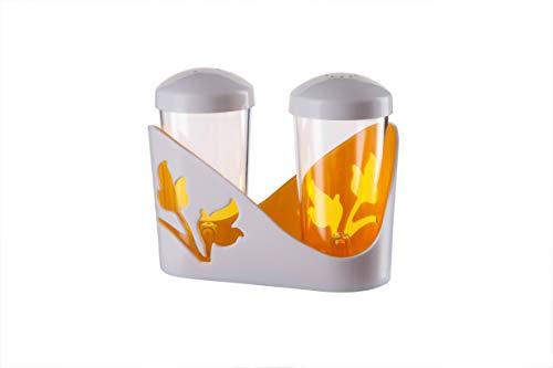 BEROSSI Viola Condiment Set, Orange