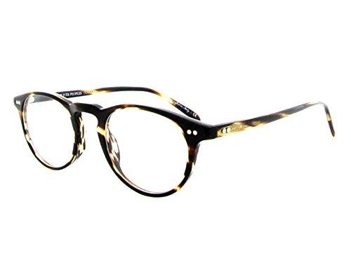 Oliver Peoples eyeglasses Riley R Col. 1003 Cocobolo size 47 - Eyeglasses People Olivers