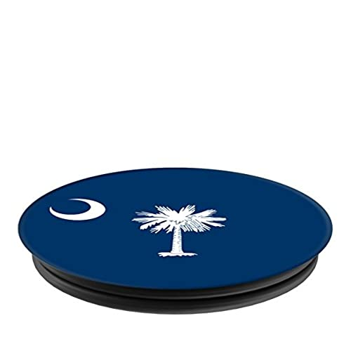 lovely Flags of the World Apparel Co. South Carolina Flag PopSockets Stand for Smartphones and Tablets