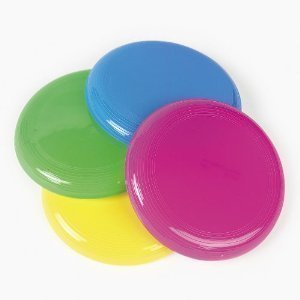Fun Express - Mini Flying Saucer Assortment (2-Pack of 72)