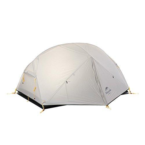 読みやすい不承認応用NatureHike アウトドア二重層テント 超軽量キャンピング登山テント 防災テント[1~2人用]