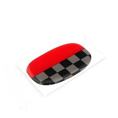 Hardtop Seat - LVBAO Seat Handle Decal Cover Sticker Trim Caps For Mini Cooper ONE/S/JCW F55 Hardtop F56 Hatchback F57 Covertible (15)
