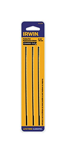 IRWIN Tools Coping Saw Blades, Coarse, 3-pack (2014500)